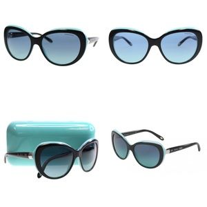Tiffany & Co. TF4122 Blue/Black Sunglasses